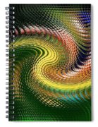 Abstract 47 Spiral Notebook