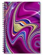 Abstract #49 Spiral Notebook