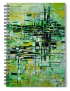 Abstract 5 Spiral Notebook