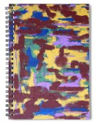 Abstract 50 Spiral Notebook