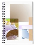 Abstract #503 Spiral Notebook