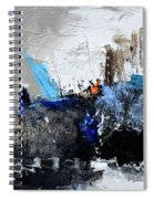 Abstract 51703 Spiral Notebook