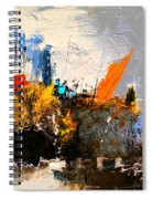 Abstract 517032 Spiral Notebook