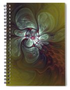 Abstract 51710 Spiral Notebook