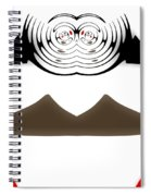 Abstract 54 Spiral Notebook