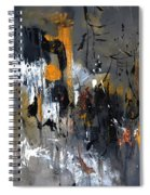 Abstract 5470401 Spiral Notebook