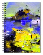 Abstract 55442233 Spiral Notebook