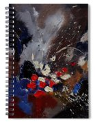 Abstract 55900122 Spiral Notebook