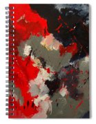 Abstract 55901103 Spiral Notebook