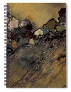 Abstract 55901161 Spiral Notebook