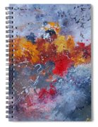 Abstract  55902110 Spiral Notebook