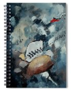 Abstract 55902192 Spiral Notebook