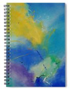 Abstract 564897 Spiral Notebook