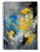 Abstract  569070 Spiral Notebook