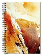 Abstract 5869 Spiral Notebook