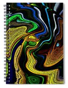 Abstract 6-10-09-a Spiral Notebook