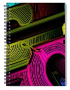 Abstract 6-21-09 Spiral Notebook