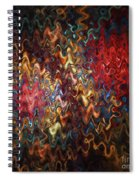 Abstract 60816 Spiral Notebook
