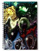 Abstract 623165 Spiral Notebook