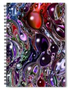 Abstract 62316.7 Spiral Notebook