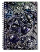 Abstract 63016.9 Spiral Notebook