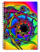 Abstract 65 Spiral Notebook