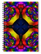 Abstract 650 Spiral Notebook