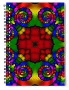 Abstract 651 Spiral Notebook