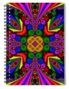Abstract 659 Spiral Notebook