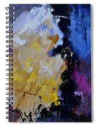 Abstract 660101 Spiral Notebook