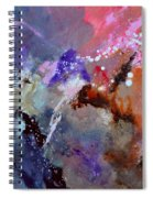 Abstract 6601012 Spiral Notebook