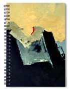 Abstract 660110 Spiral Notebook