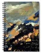 Abstract 6601112 Spiral Notebook