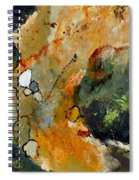 Abstract 66018012 Spiral Notebook