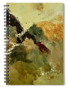 Abstract 6601901 Spiral Notebook