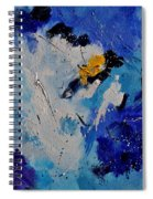 Abstract 6601902 Spiral Notebook