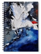 Abstract 6611401 Spiral Notebook