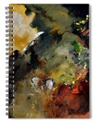 Abstract 6611402 Spiral Notebook