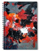 Abstract 6611403 Spiral Notebook