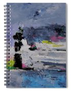 Abstract 6611602 Spiral Notebook