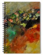 Abstract 6611604 Spiral Notebook
