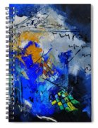 Abstract 6611701 Spiral Notebook