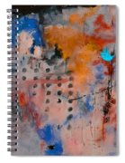 Abstract 66611032 Spiral Notebook