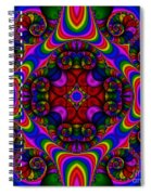 Abstract 667 Spiral Notebook
