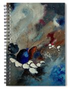 Abstract 67909010 Spiral Notebook