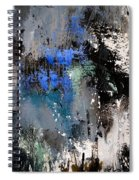 Abstract 69 54525 Spiral Notebook