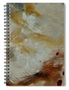 Abstract 69014003 Spiral Notebook