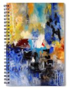 Abstract 69070 Spiral Notebook