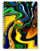 Abstract 7-10-09 Spiral Notebook