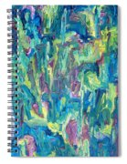 Abstract 700 Spiral Notebook
